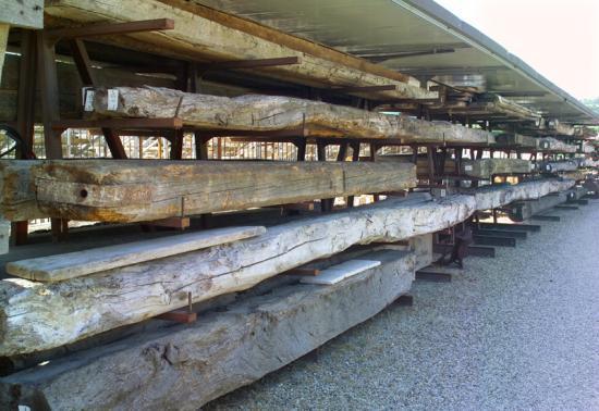 Antique Wooden Beams