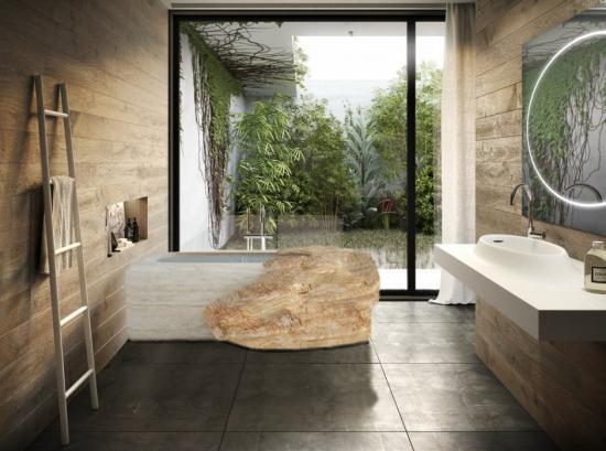 Vasche in pietra idromassaggio monoblocco