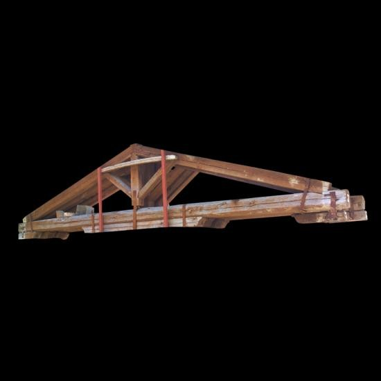 Reclaimed Wood Trusses