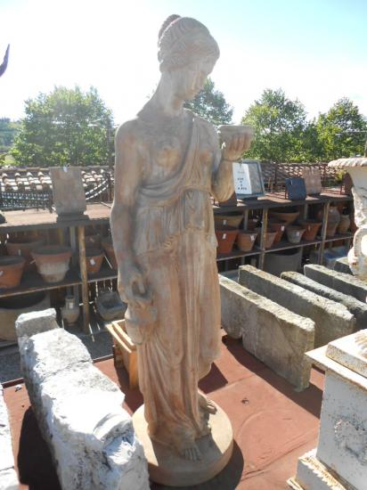 Statue da giardino di Terracotta antica