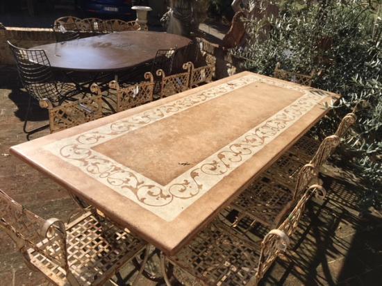Piani per Tavoli RA-MA Materiali antichi