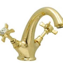 Mélangeur lavabo monotrou avec drain