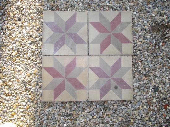 Ra ma piastrelle da pavimento in graniglia