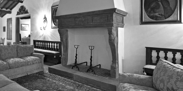 Antique stoves and fireplaces