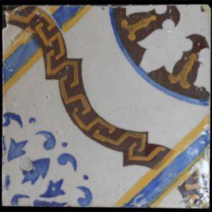 Maioliche italiane antiche decorate molto eleganti