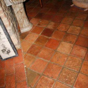 Cotto antico con Mattoni per Pavimento Quadrato