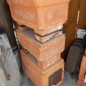 Stufa antica in Terracotta refrattaria