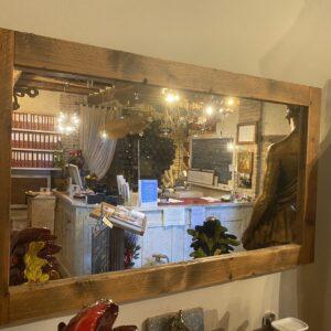 specchiera cornice legno