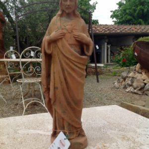 Statua in terracotta raffigurante Gesù