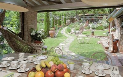 Il giardino: Vintage style, ovvio!