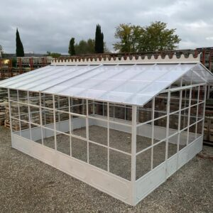 Complete Polycarbonate Greenhouse and six windows