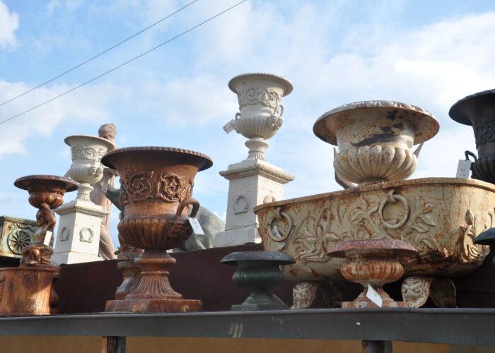 location de vases à l'extérieur