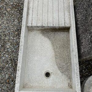 acquaio graniglia con scolapiatti